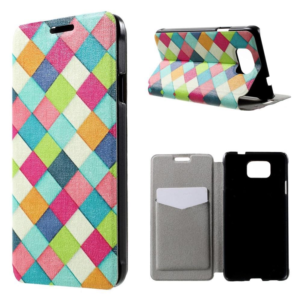 Billede af Samsung Galaxy Alpha Design Flip Cover m. Stand - Fragnant