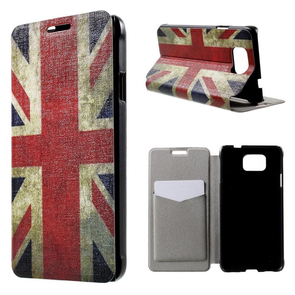 Billede af Samsung Galaxy Alpha Design Flip Cover m. Stand - Union Jack