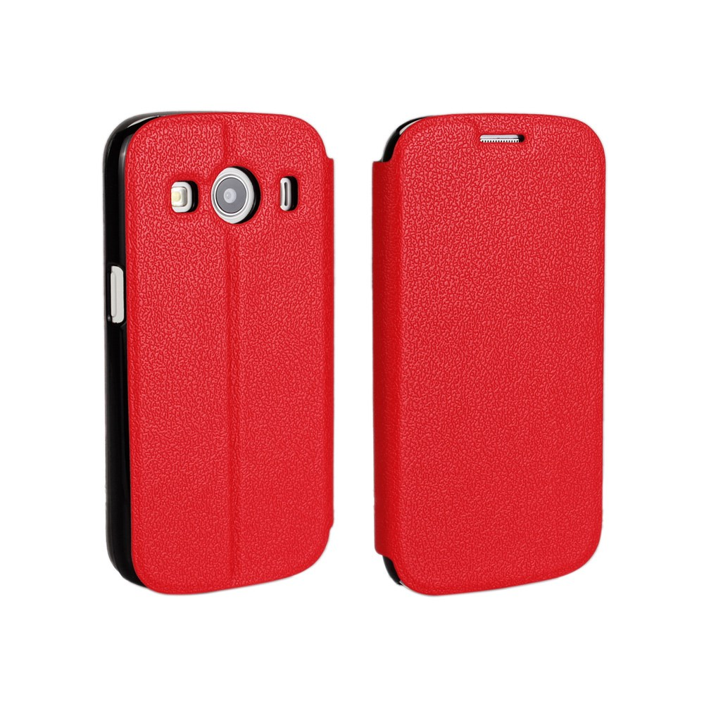 Image of Samsung Galaxy Ace 4 Slim Flip Cover m. Stand - Rød