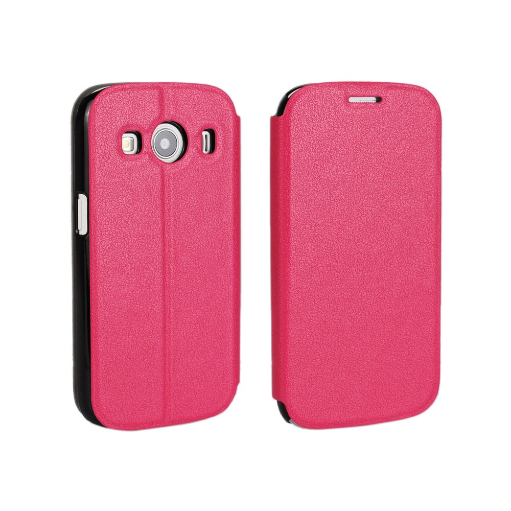 Image of Samsung Galaxy Ace 4 Slim Flip Cover m. Stand - Pink