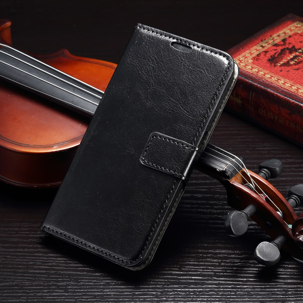 Billede af Samsung Galaxy S6 Læder Cover m. Kortholder - Sort