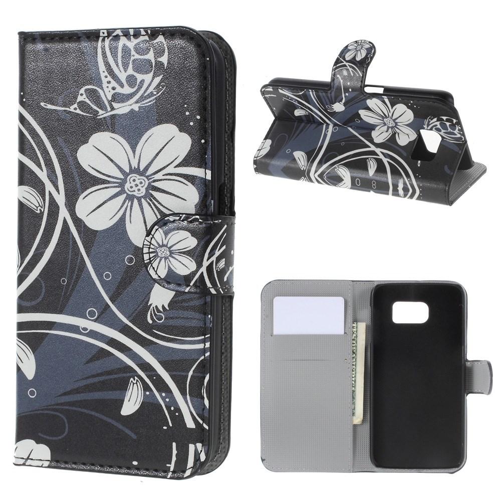 Billede af Samsung Galaxy S6 Smart Cover m. Stand - Elegant Floral