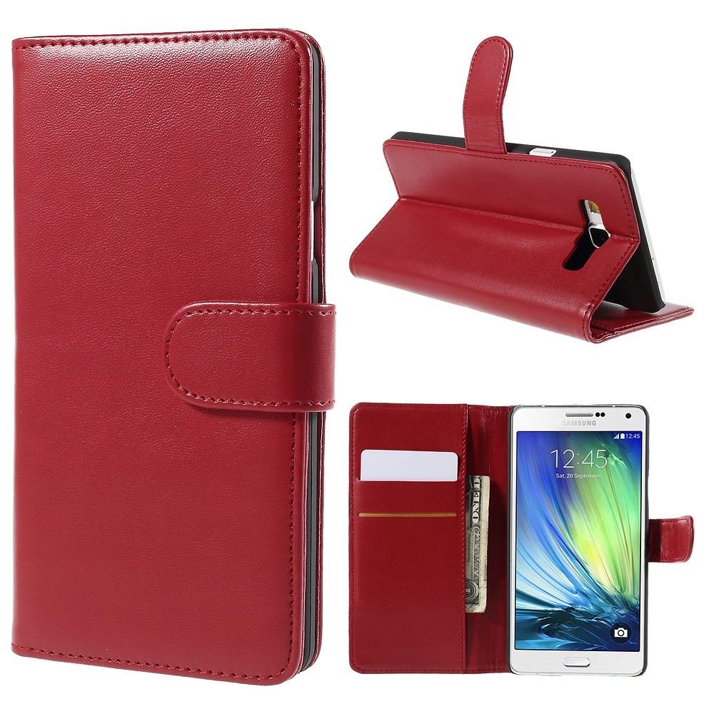 Billede af Samsung Galaxy A7 (2015) Smart Flip Cover m. Stand - Rød