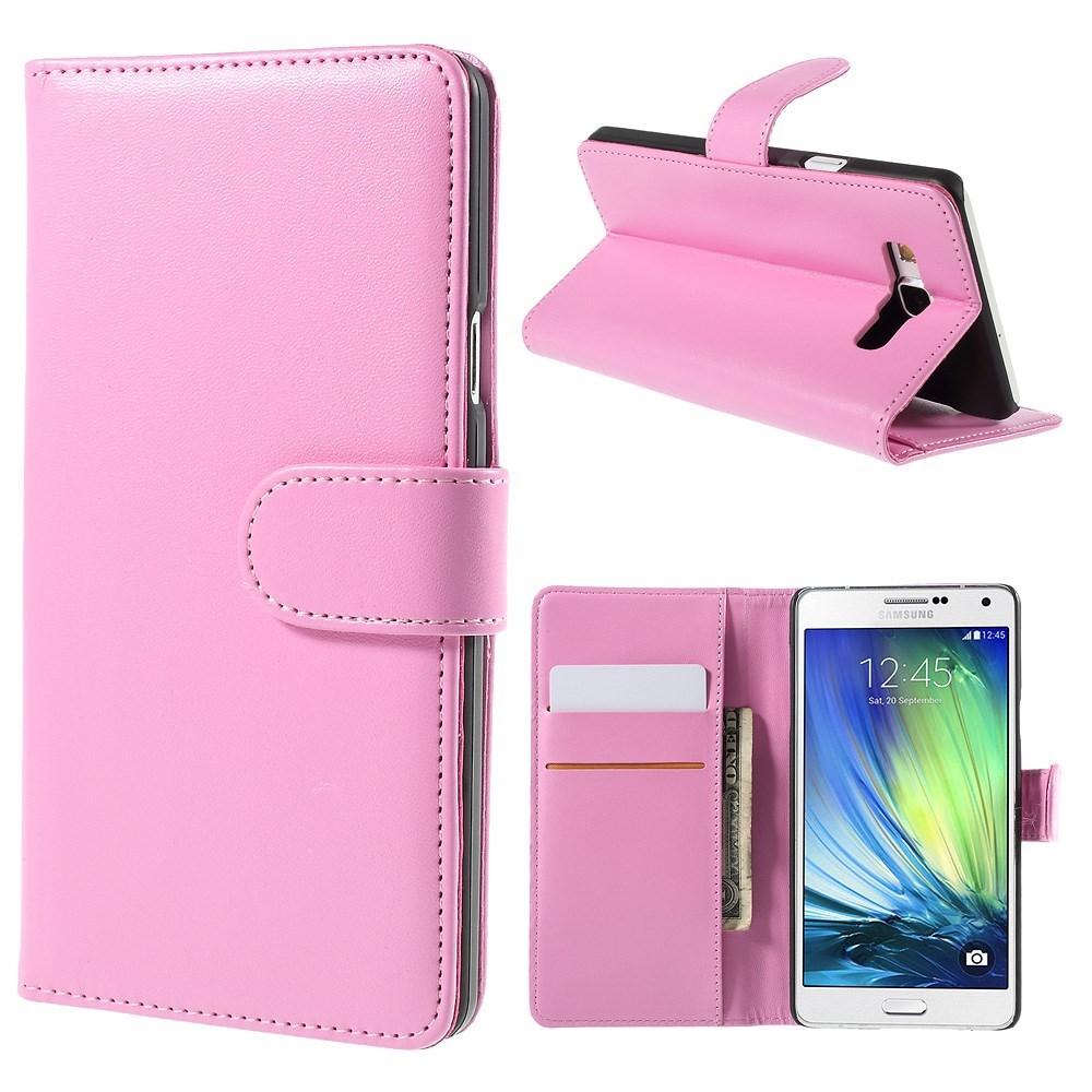 Billede af Samsung Galaxy A7 (2015) Smart Flip Cover m. Stand - Rosa
