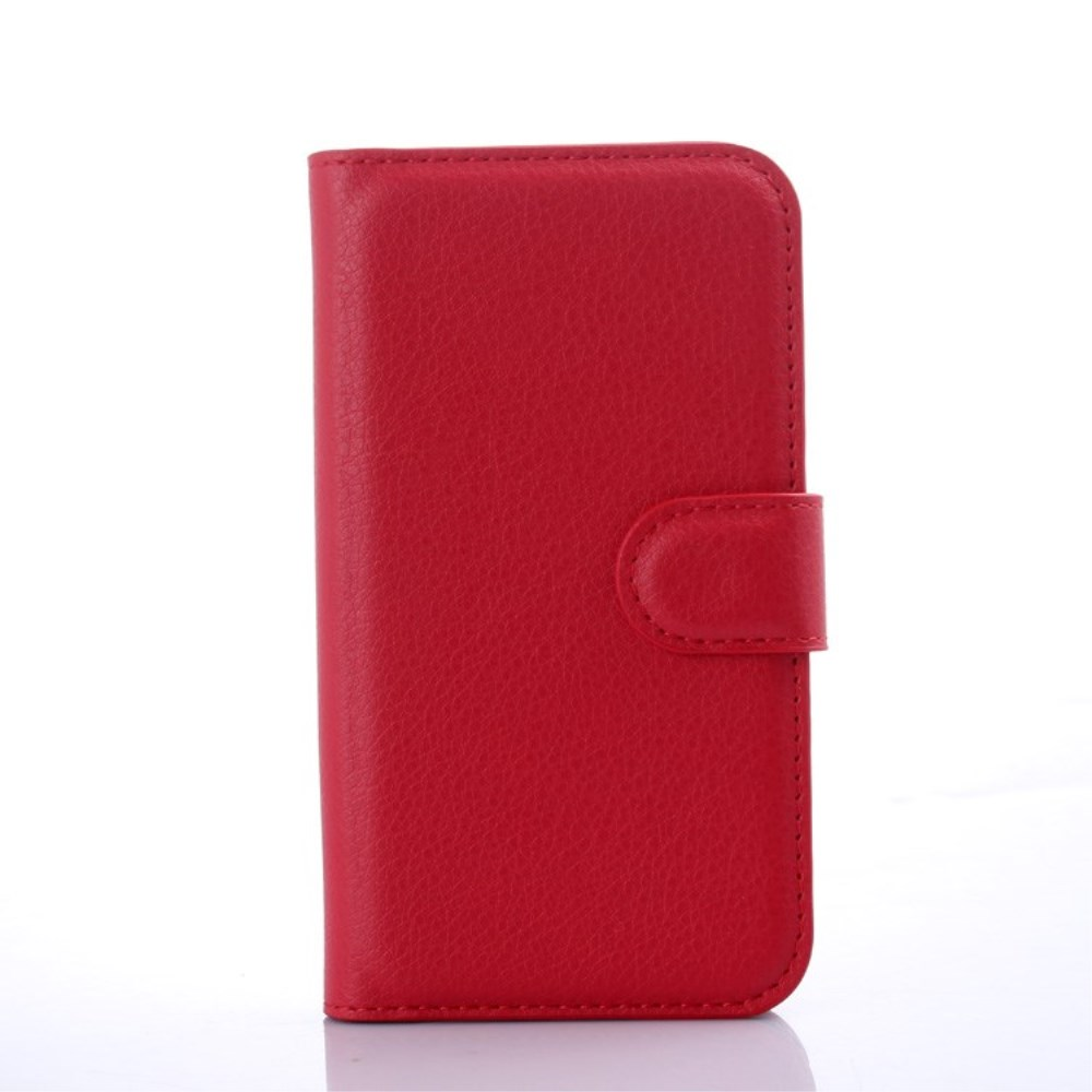 Billede af Samsung Galaxy J1 Luksus Flip Cover m. Pung - Rød