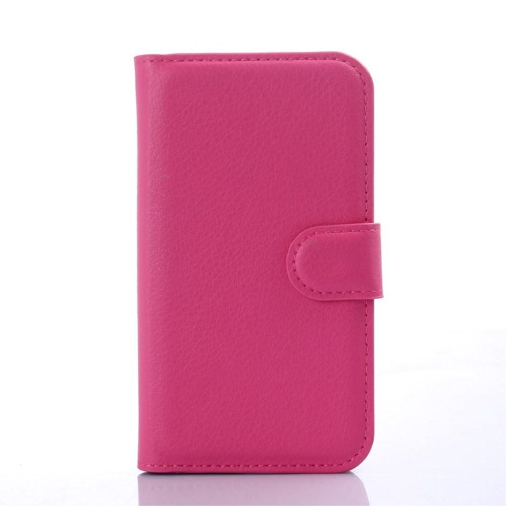 Billede af Samsung Galaxy J1 Luksus Flip Cover m. Pung - Pink