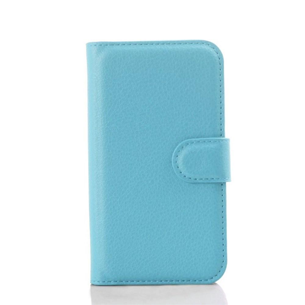Billede af Samsung Galaxy J1 Luksus Flip Cover m. Pung - Lys Blå