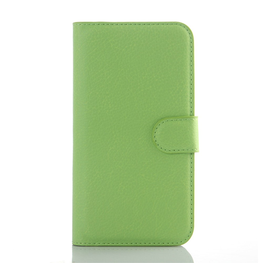 Billede af Samsung Galaxy J5 PU Læder Flipcover m. Kortholder - Grøn