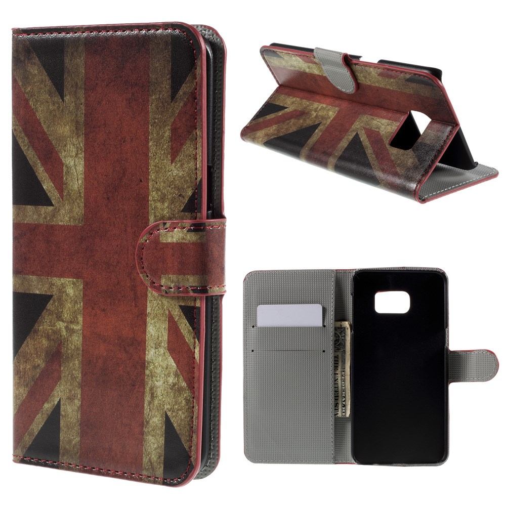Image of   Samsung Galaxy S6 Edge Plus Smart Flip Cover m. Pung - Union Jack