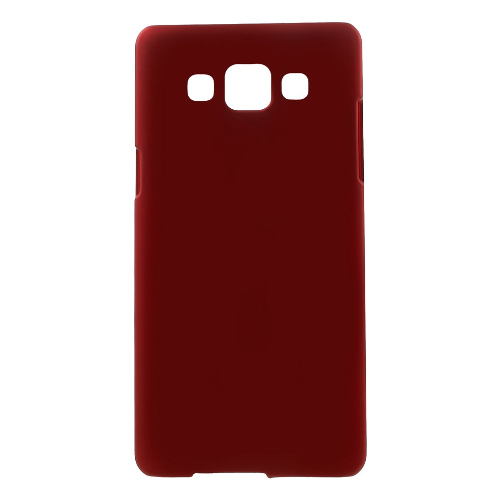 Image of Samsung Galaxy A5 Gummibelagt Hard Case Cover - Rød