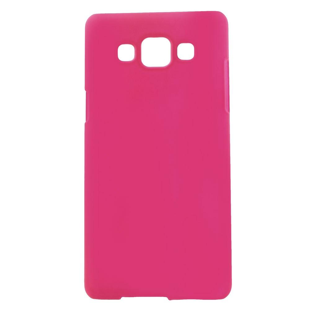 Billede af Samsung Galaxy A5 Gummibelagt Hard Case Cover - Rosa
