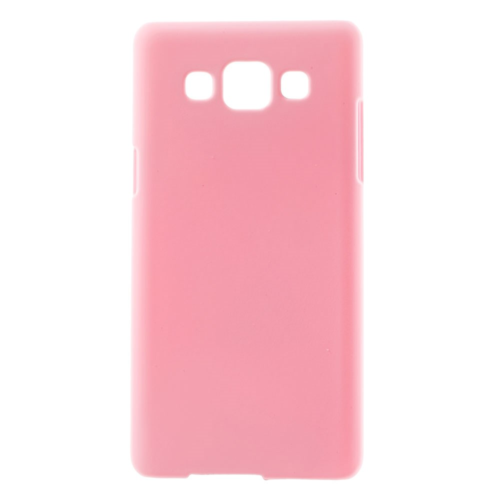 Image of Samsung Galaxy A5 Gummibelagt Hard Case Cover - Pink