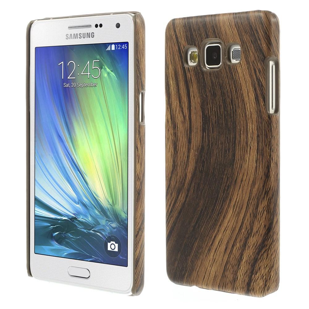 Billede af Samsung Galaxy A5 Læderbelagt Plastik Cover - Træ