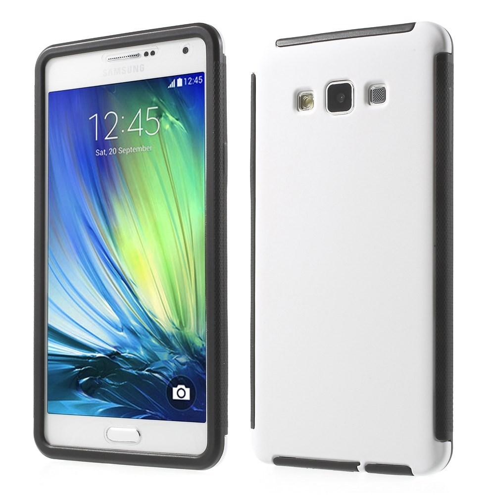 Billede af Samsung Galaxy A7 (2015) TPU/Plastik Hybrid Cover m. Skærmbeskyttelse - Hvid