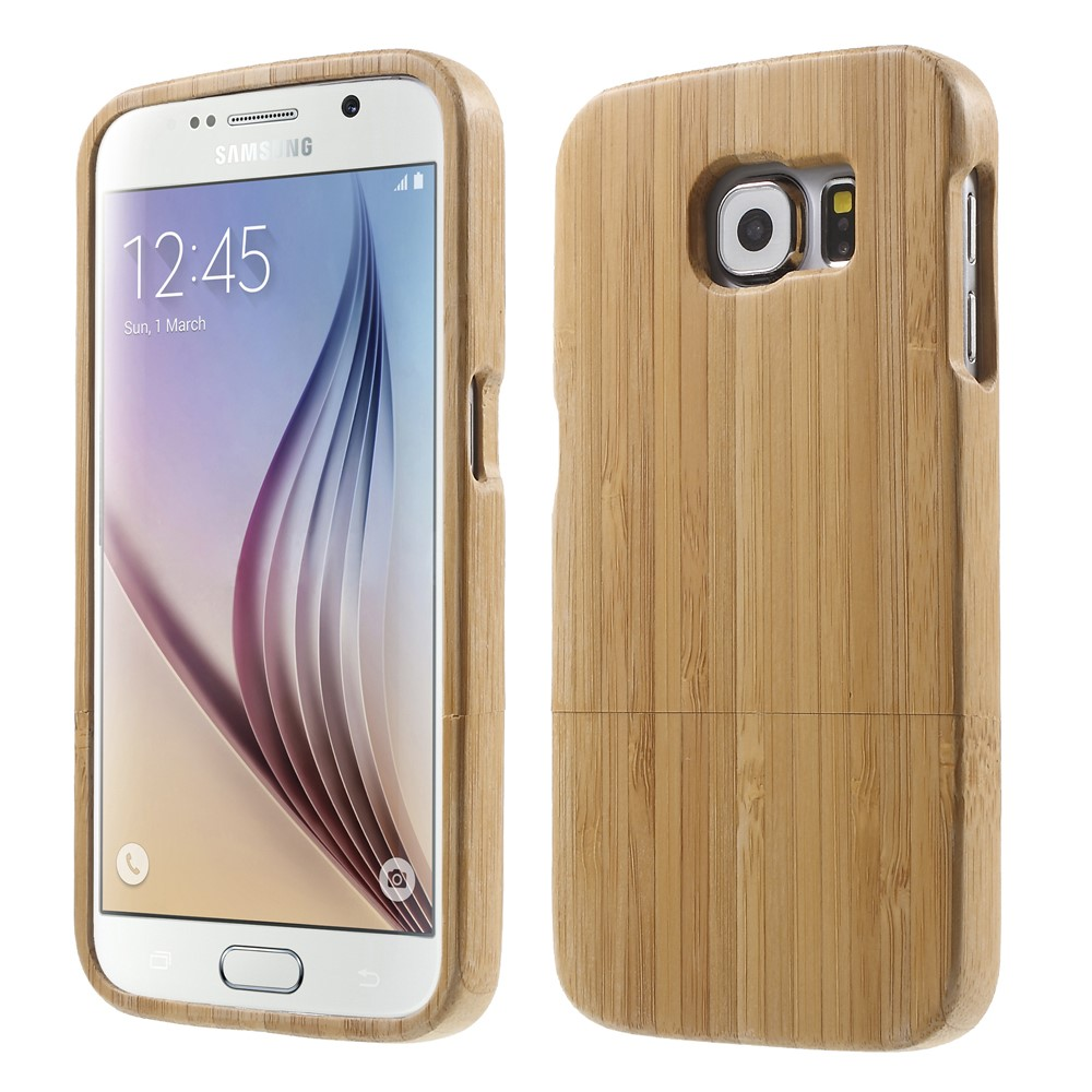 Image of Samsung Galaxy S6 InCover Træ Cover - Beige