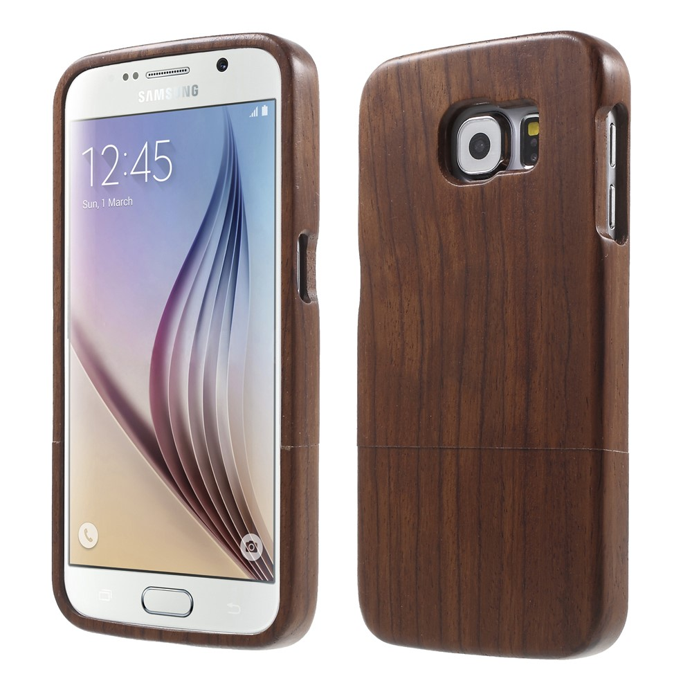 Image of Samsung Galaxy S6 InCover Træ Cover - Coffee