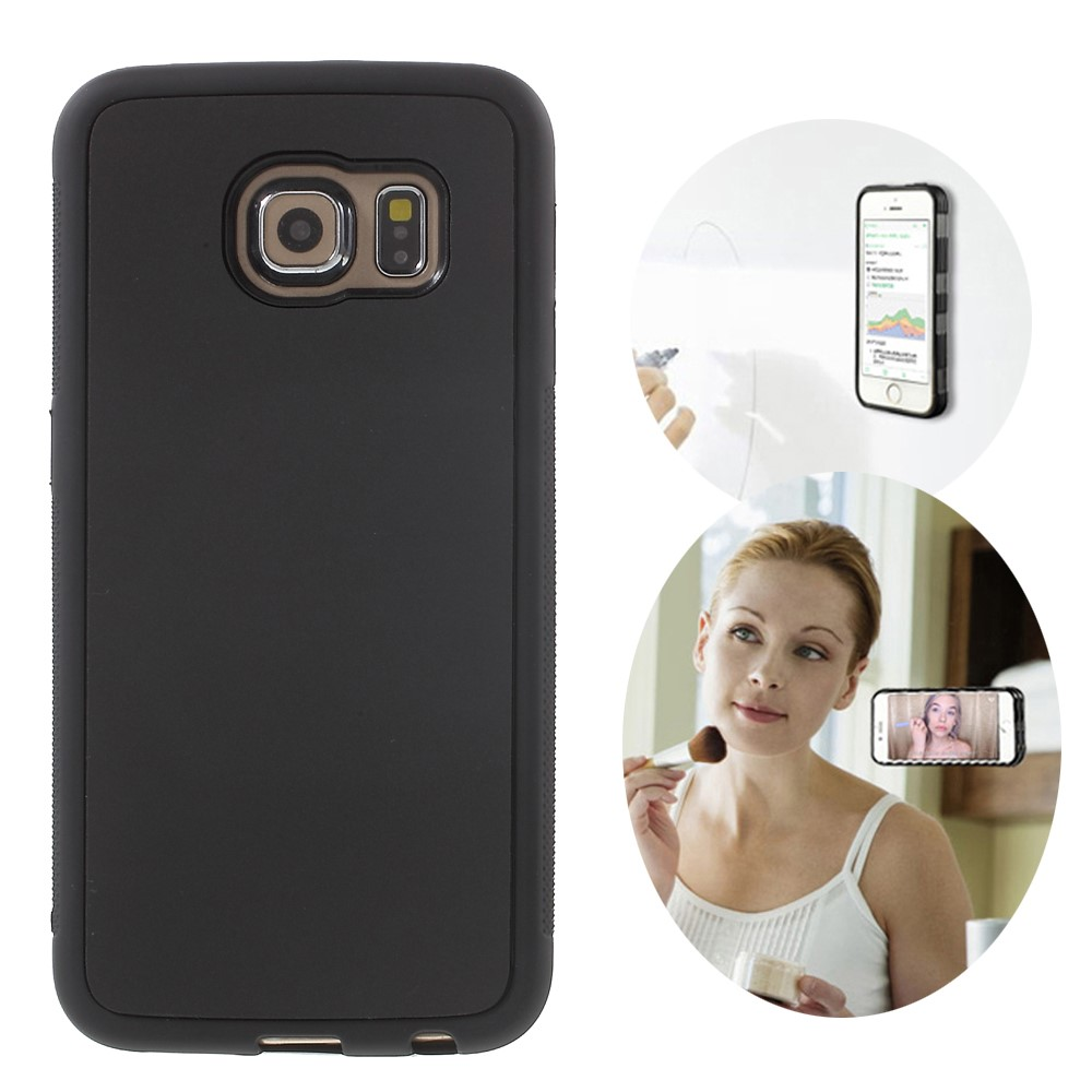 Image of Samsung Galaxy S6 Edge MYFONLO Anti-Gravity Cover - Sort