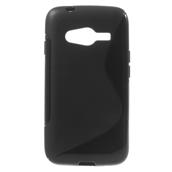 Image of Samsung Galaxy Ace 4 LTE inCover TPU S-Line Cover - Sort