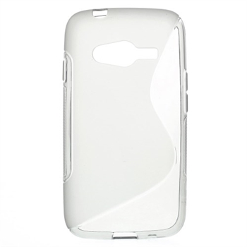 Image of Samsung Galaxy Ace 4 LTE inCover TPU S-Line Cover - Grå