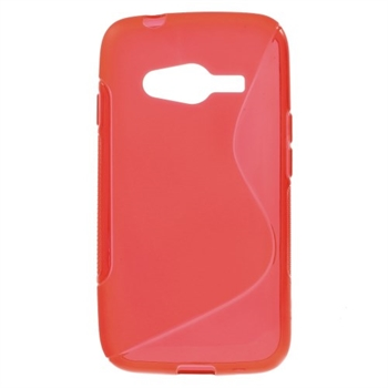Image of Samsung Galaxy Ace 4 LTE inCover TPU S-Line Cover - Rød