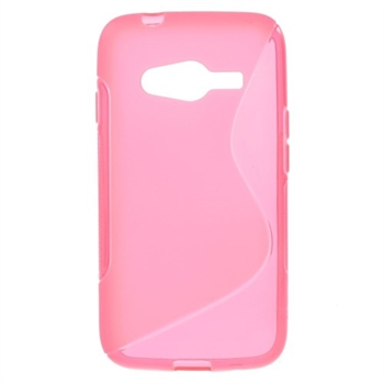 Image of Samsung Galaxy Ace 4 LTE inCover TPU S-Line Cover - Rosa