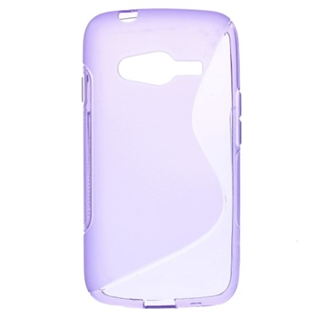Image of Samsung Galaxy Ace 4 LTE inCover TPU S-Line Cover - Lilla