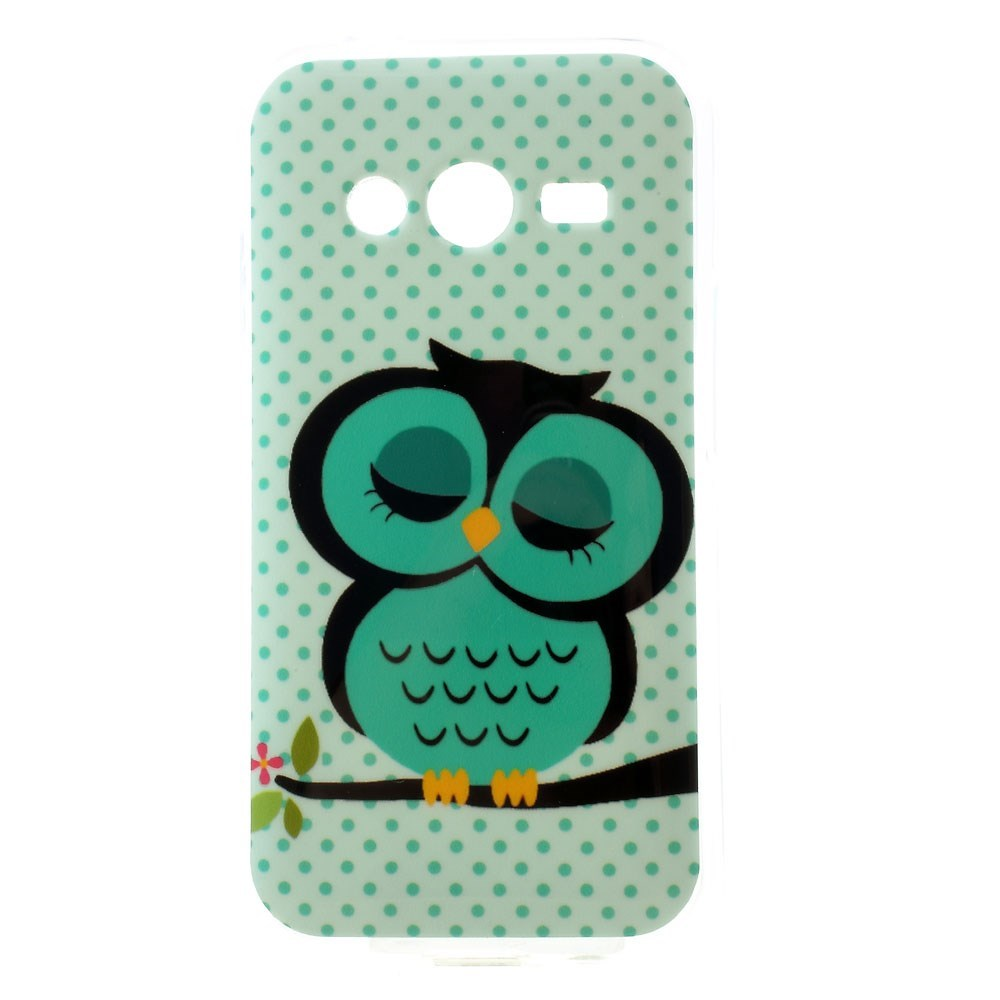 Billede af Samsung Galaxy Trend 2 / 2 Lite inCover TPU Cover - Sleeping Owl