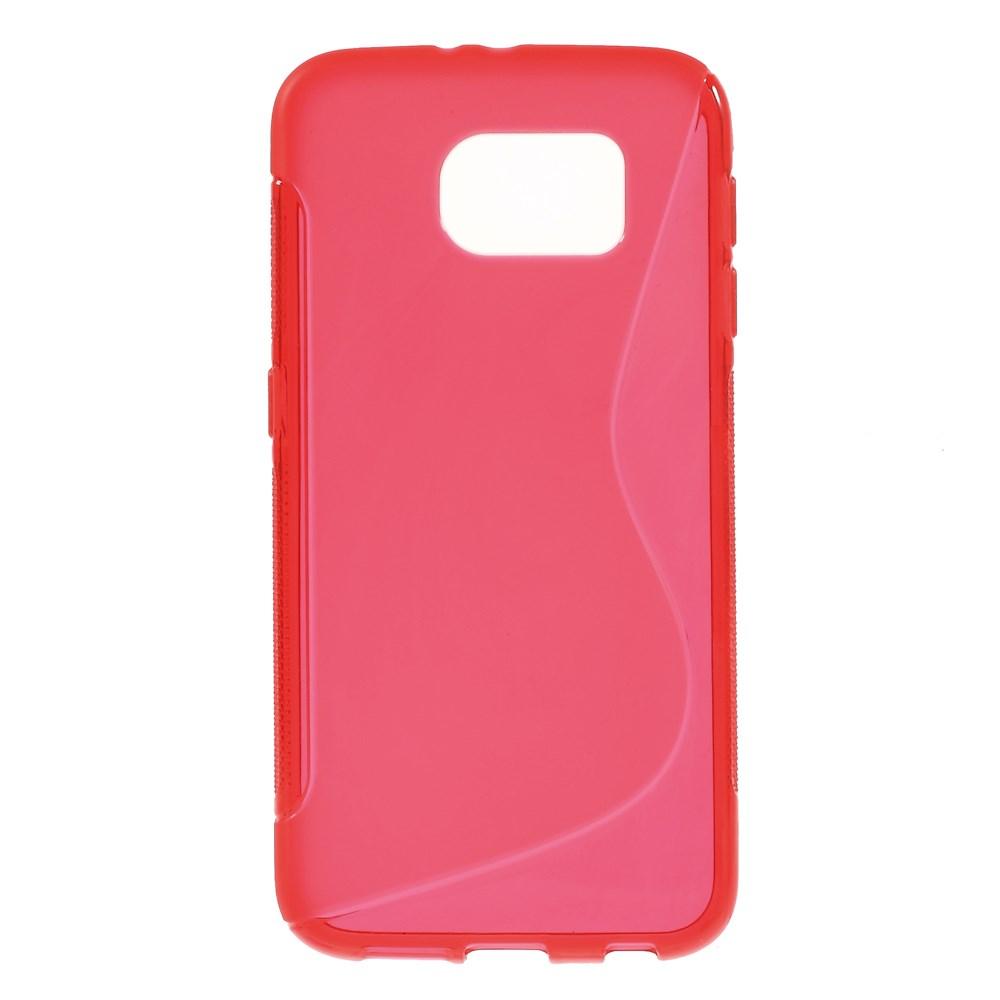 Billede af Samsung Galaxy S6 TPU Gel Cover - Rød