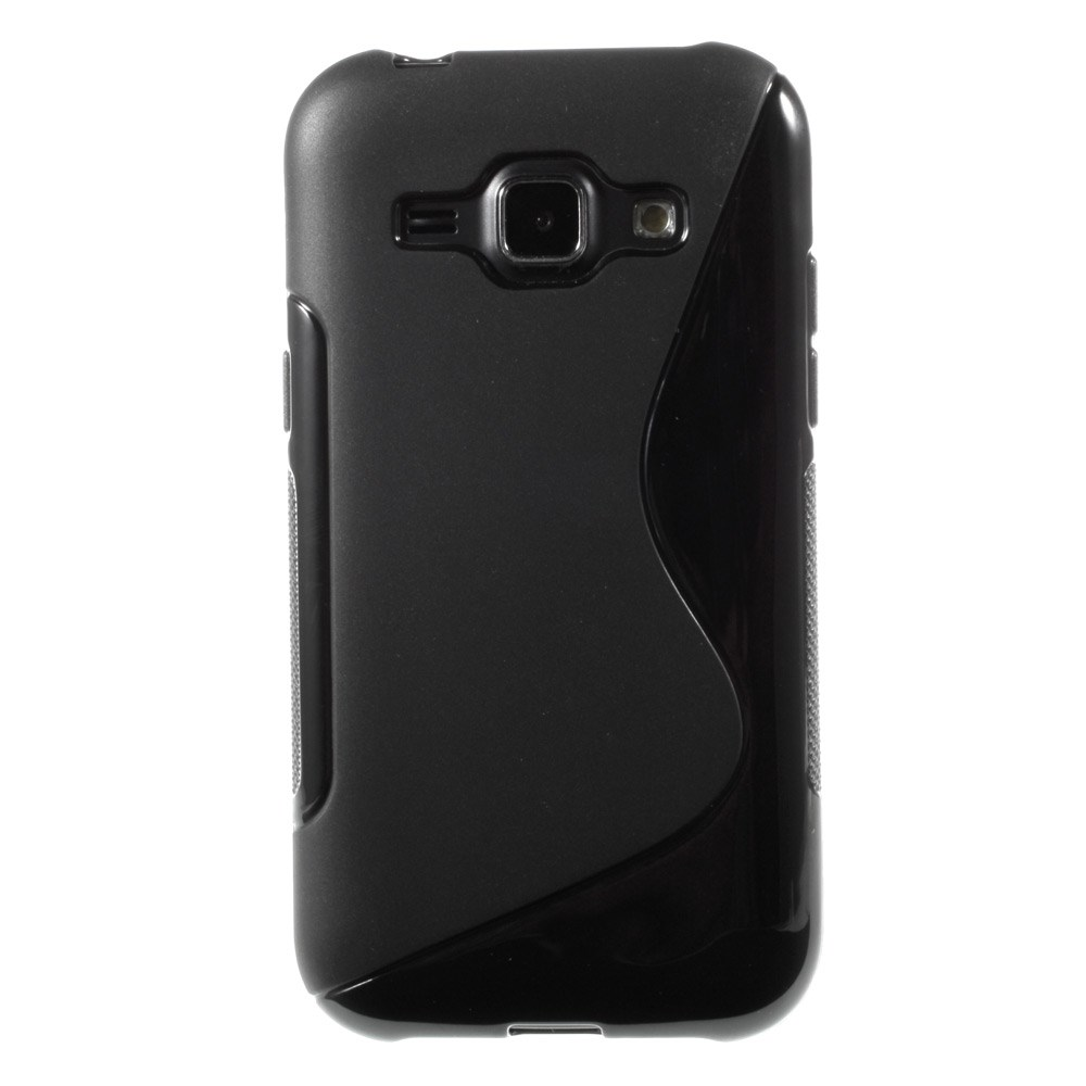 Billede af Samsung Galaxy J1 inCover TPU Cover S-Line - Sort