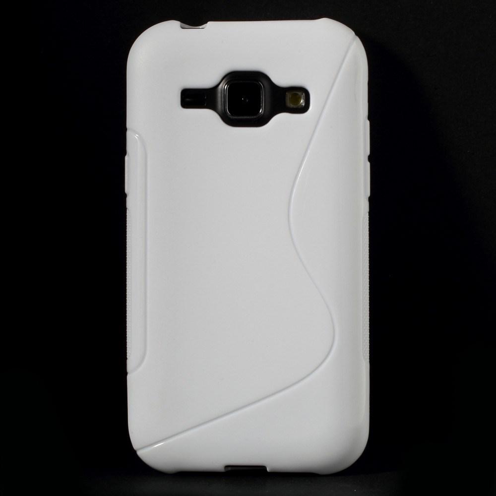 Billede af Samsung Galaxy J1 inCover TPU Cover S-Line - Hvid