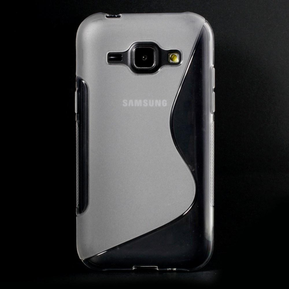 Billede af Samsung Galaxy J1 inCover TPU Cover S-Line - Gennemsigtig