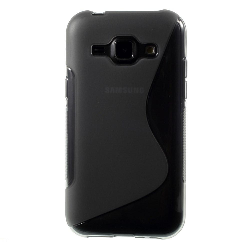 Billede af Samsung Galaxy J1 inCover TPU Cover S-Line - Grå