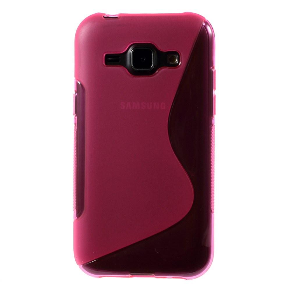 Billede af Samsung Galaxy J1 inCover TPU Cover S-Line - Pink