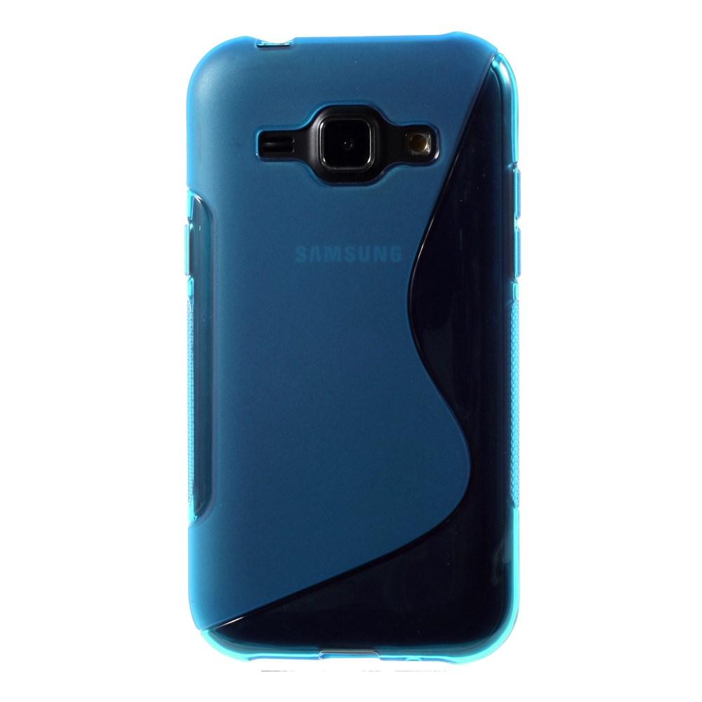 Billede af Samsung Galaxy J1 inCover TPU Cover S-Line - Lys Blå