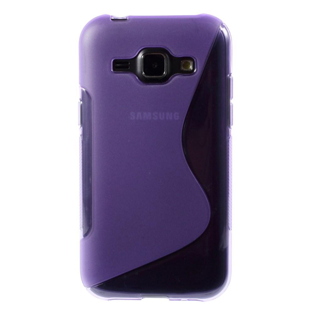 Billede af Samsung Galaxy J1 inCover TPU Cover S-Line - Lilla