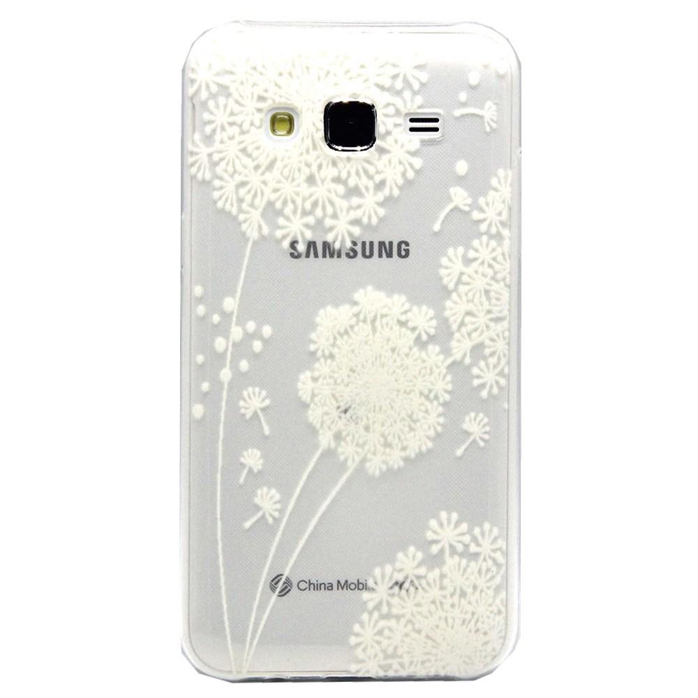 Billede af Samsung Galaxy J5 Design TPU Cover - Dandelion