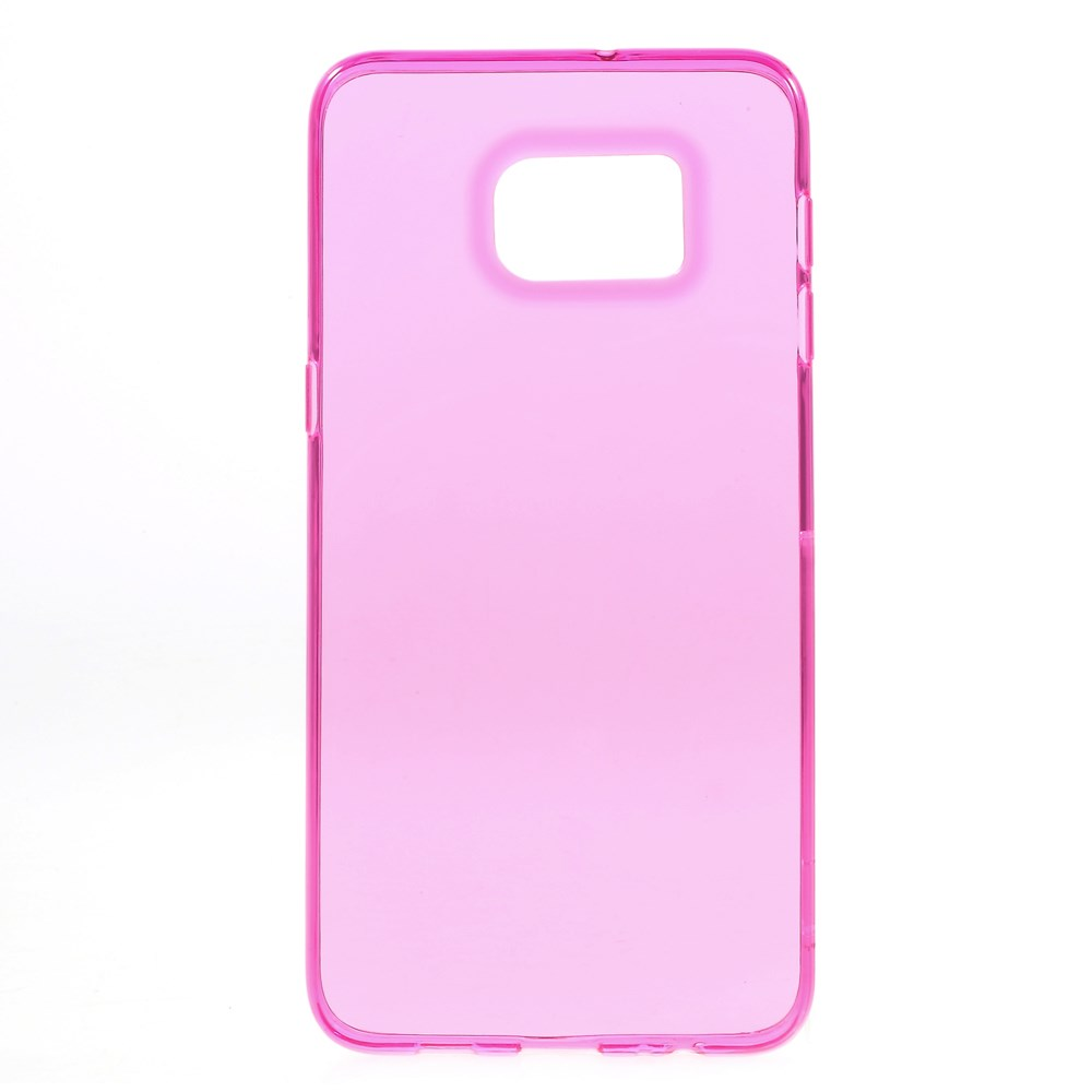Image of   Samsung Galaxy S6 Edge Plus InCover Ultra Slim TPU Cover - Pink