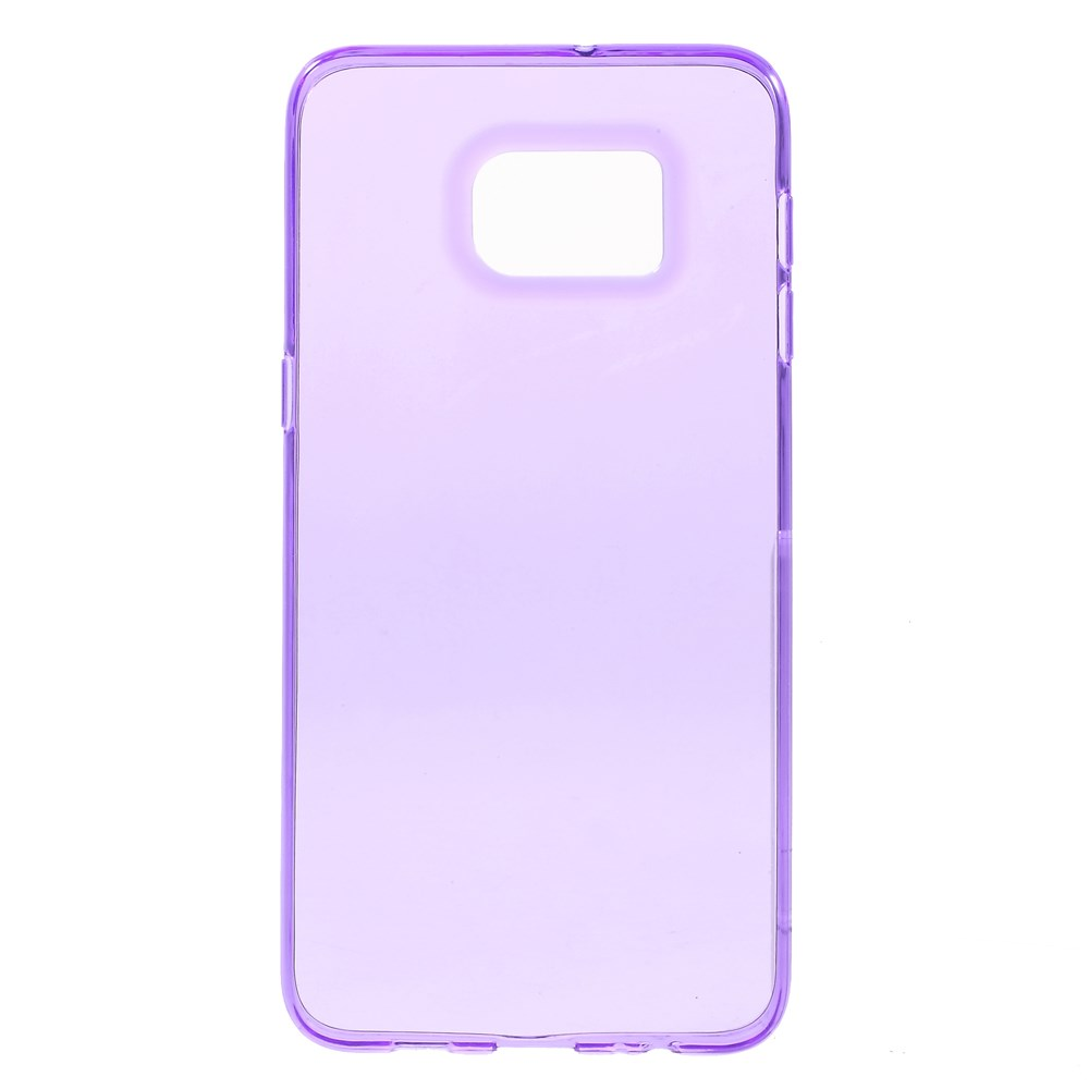 Image of   Samsung Galaxy S6 Edge Plus InCover Ultra Slim TPU Cover - Lilla