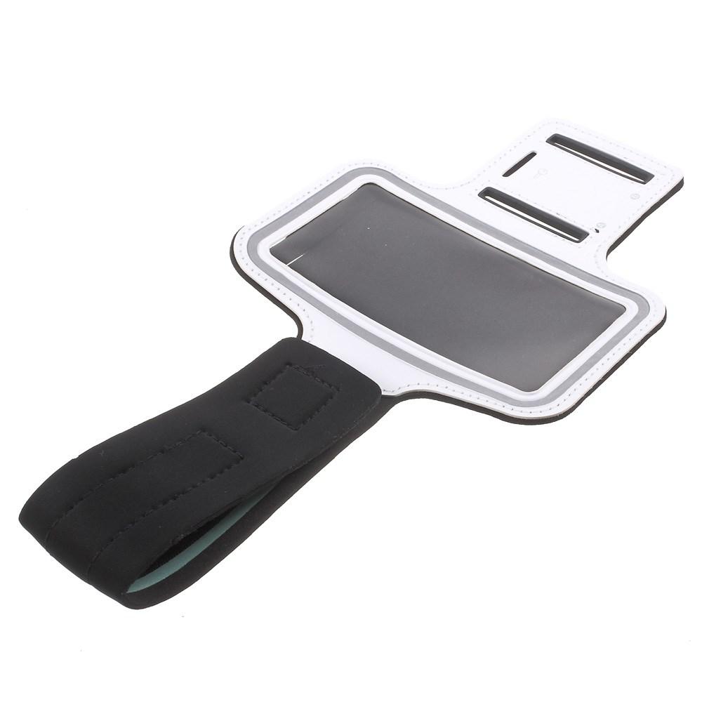 Image of   Samsung Galaxy S6 og S6 Edge Sports Armbånd - Hvid