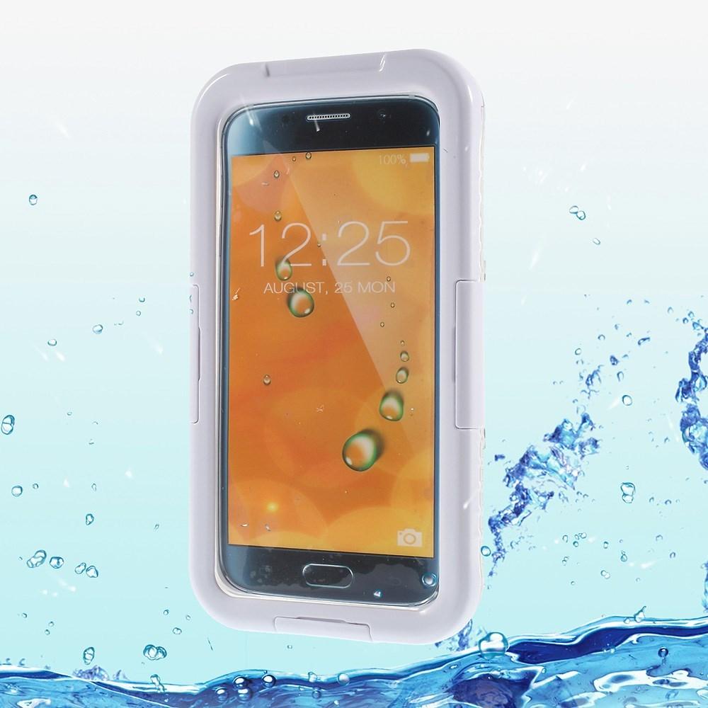 Image of   Samsung Galaxy S6 Edge Heavy Duty Støv & Vandtæt Cover - Hvid