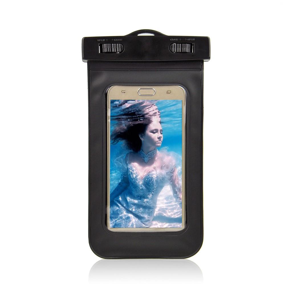 Billede af Universal Vandtæt Mobilpose i Sort - 20,5 x 11,5 x 1,5 cm