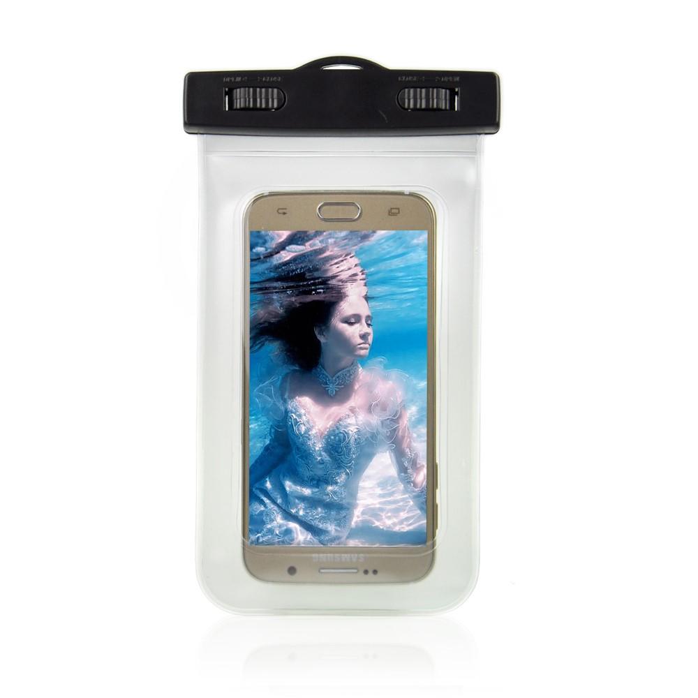Billede af Universal Vandtæt Mobilpose i Hvid - 20,5 x 11,5 x 1,5 cm