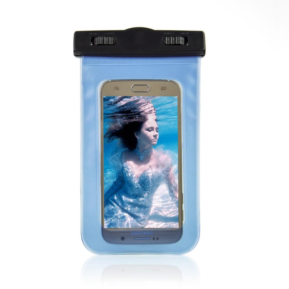Billede af Universal Vandtæt Mobilpose i Blå - 20,5 x 11,5 x 1,5 cm