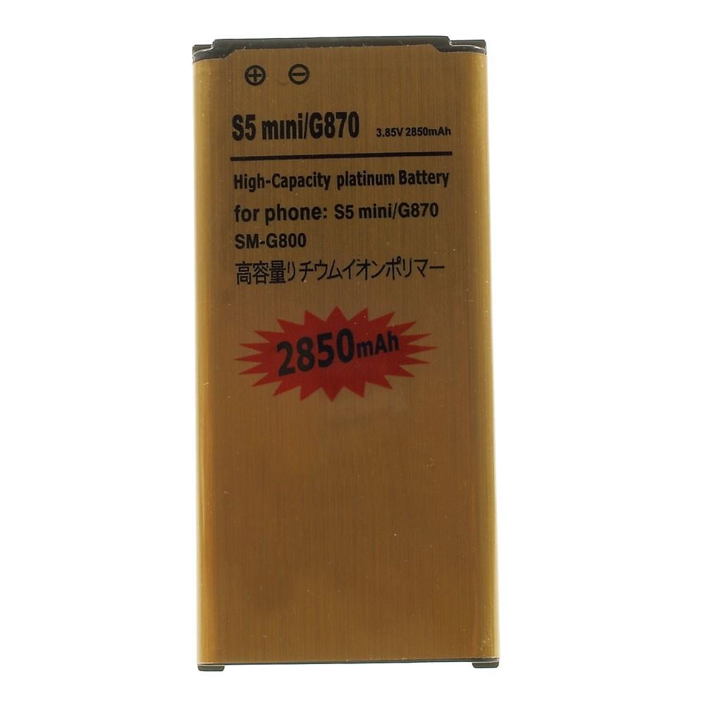 Image of   Samsung Galaxy S5 Mini 2850mAh Højkapacitets Batteri