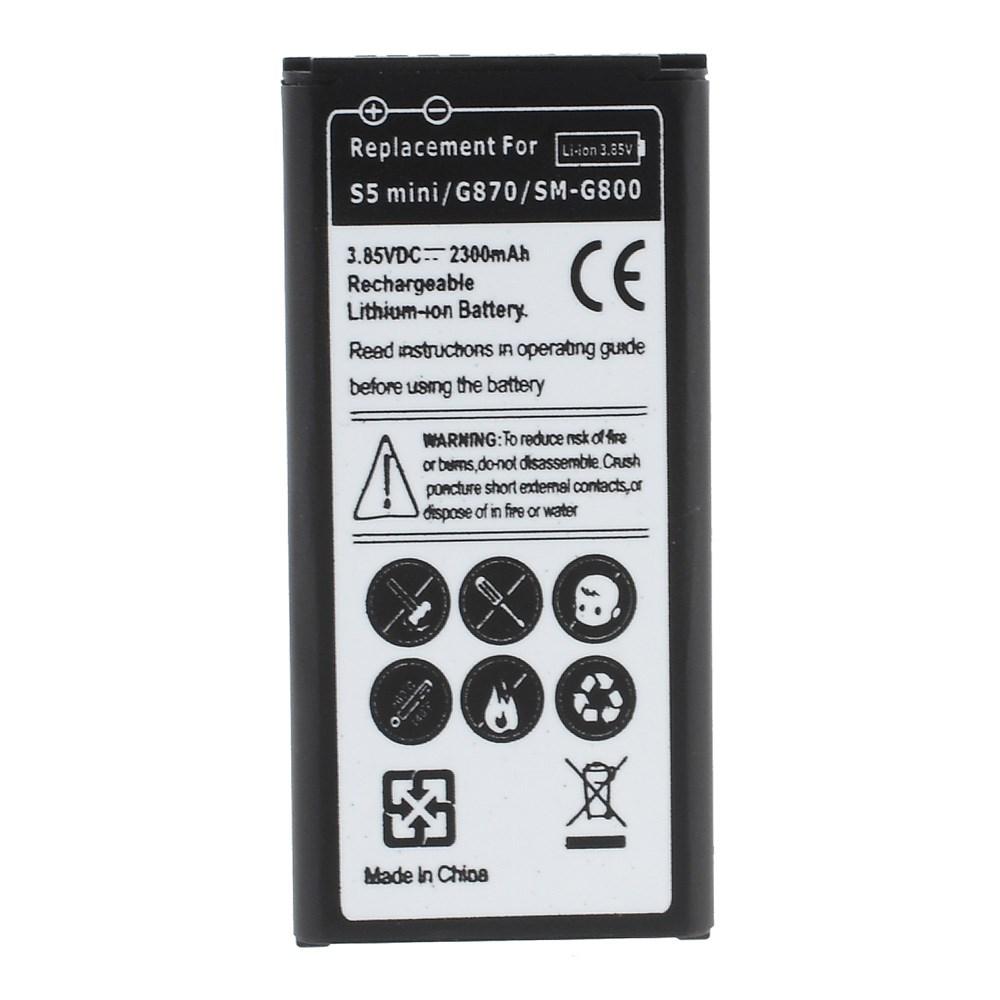 Image of   Samsung Galaxy S5 Mini 2300mAh Batteri