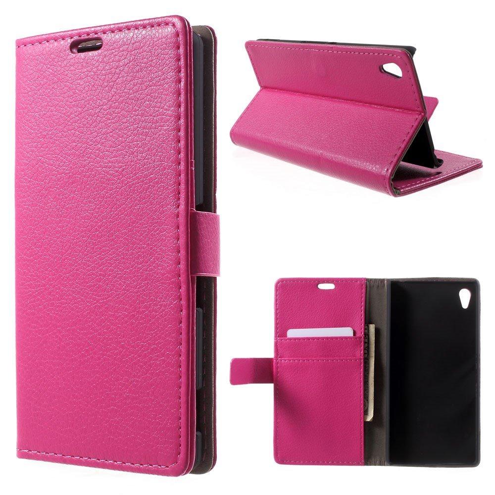 Billede af Sony Xperia Z3+ Flip Cover m. Stand - Pink