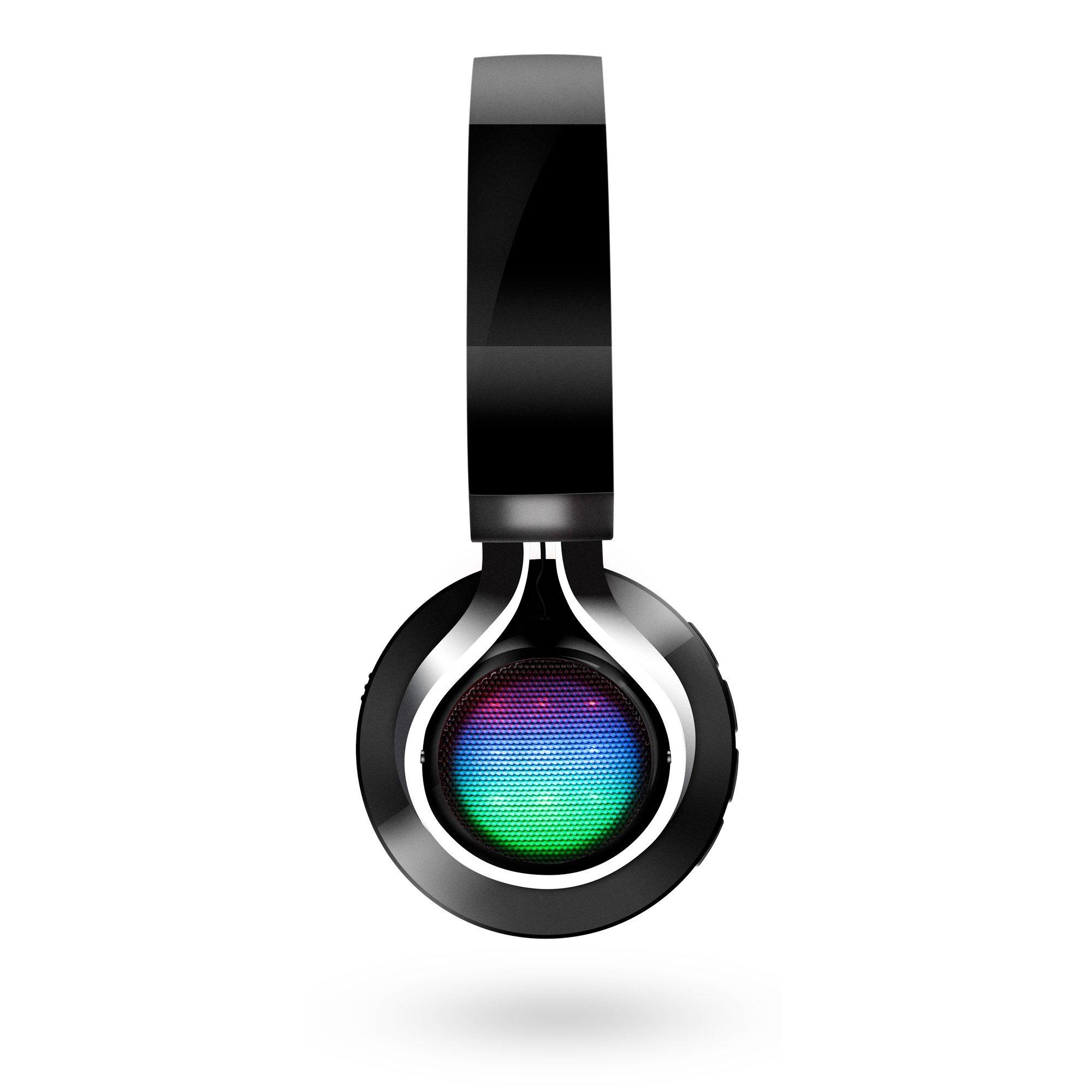 Image of Bluetooth LED Headphones - Sort