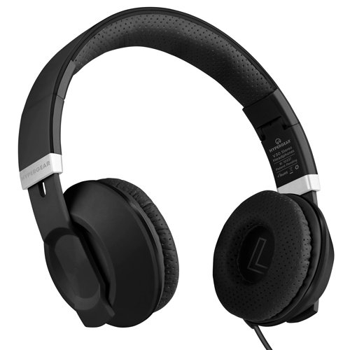 HyperGear V30 Stereo Headphones - Sort