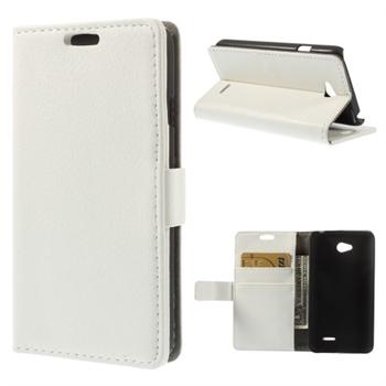 Image of LG L65 Flip Cover Med Pung - Hvid