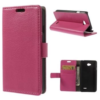 Image of LG L65 Flip Cover Med Pung - Rosa